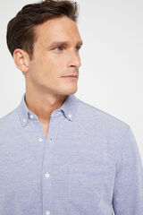 Cortefiel Camisa manga larga Azul