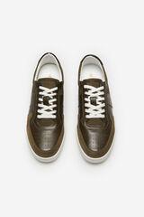 Cortefiel Sneaker cordones Verde