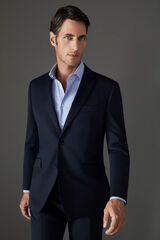 Cortefiel Americana azul marino COOLMAX® tailored fit Azul
