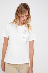 Cortefiel Camiseta días de la semana Disney Rosa