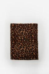 Cortefiel Lenço estampagem leopardo Varios