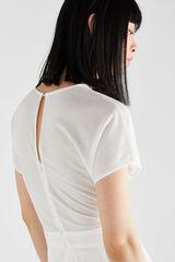 Cortefiel Vestido malha Branco