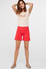 Cortefiel Short color Rojo