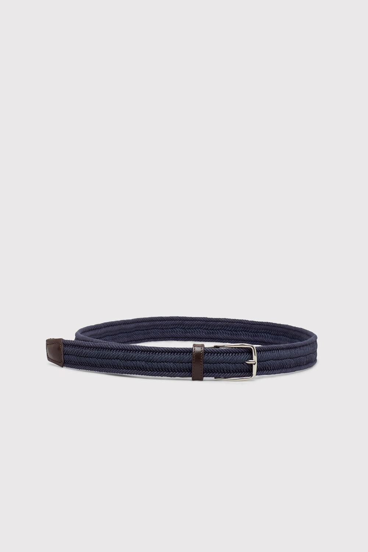 Cortefiel Cinturón trenzado Azul 1e9d33576706