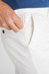 Cortefiel Pantalón chino estructura slim Beige
