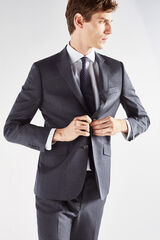 Cortefiel Americana lisa tailored fit Gris