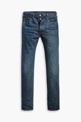 Cortefiel Pantalón vaquero Levi's® 501® lavado medio original fit Azul