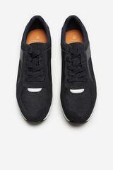 Cortefiel Sneaker estilo runner Azul