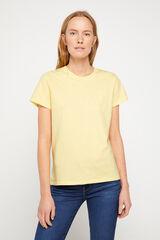 Cortefiel Camiseta Levi's® clásica logotipo en el centro Amarillo