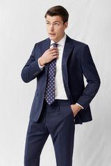 Cortefiel Americana classic fit Azul