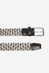 Cortefiel Cinturón trenzado textil Varios