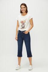 Cortefiel Calças jeans redutoras Azul