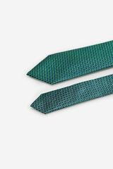 Cortefiel Corbata estructura Verde