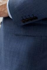 Cortefiel Blazer pied de poulle classic fit Azul