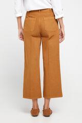 Cortefiel Jeans palazzo Amarelo