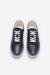 Cortefiel Sneaker cordones Azul