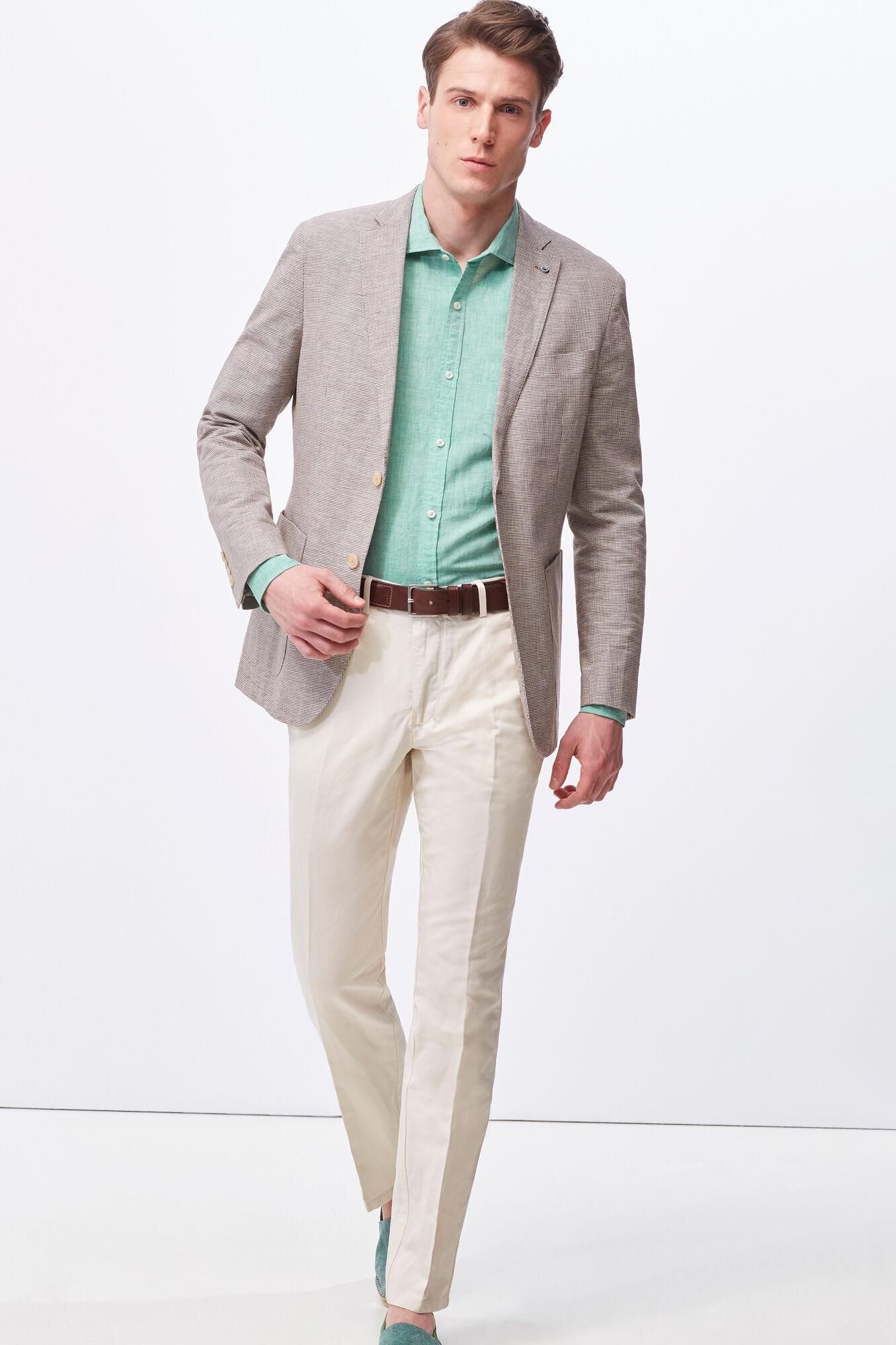 tailored Varios Pantalón Cortefiel lino fit z4WEvZn