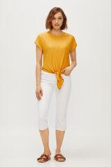 Cortefiel Calças jeans redutoras Branco