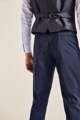 Cortefiel Pantalón slim fit Azul