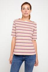 Cortefiel T-shirt básica decote barco Varios