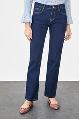 Cortefiel Jeans regular fit Azul
