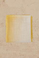 Cortefiel Foulard tie dye Amarillo