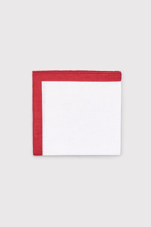 346ad9e9c768 Cortefiel Pañuelo blanco perfil Rojo