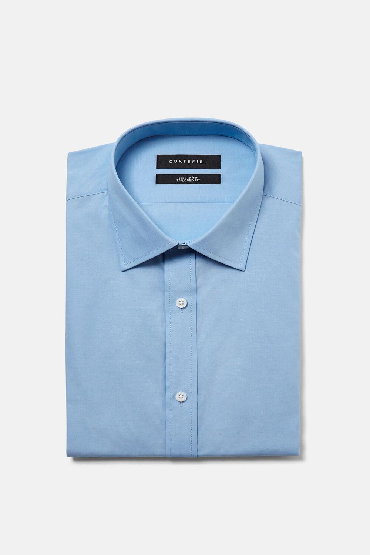 Cortefiel Camisa de vestir tailored fit Azul 737424719a2e
