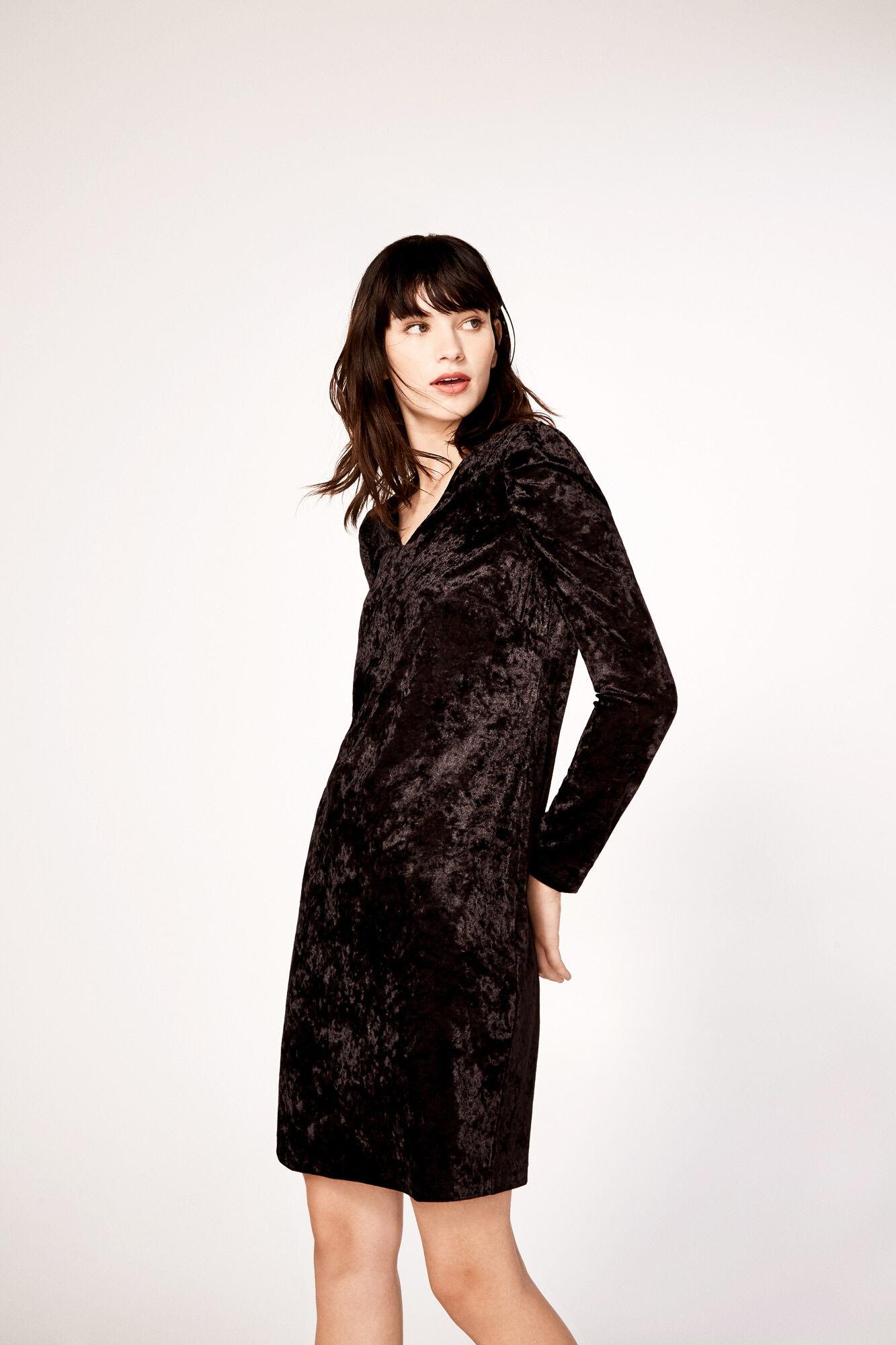 Vestidos manga larga negro