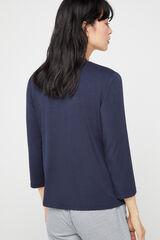 Cortefiel Camiseta perkins modal Azul