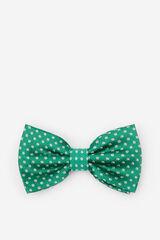 Cortefiel Laço de seda às bolas verde Verde