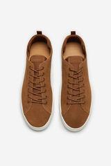 Cortefiel Sneaker cordones Marrón