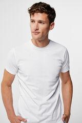 Cortefiel Camiseta interior lisa Blanco