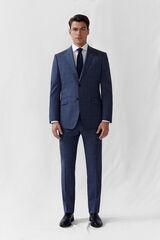 Cortefiel Americana cuadros tailored fit Azul