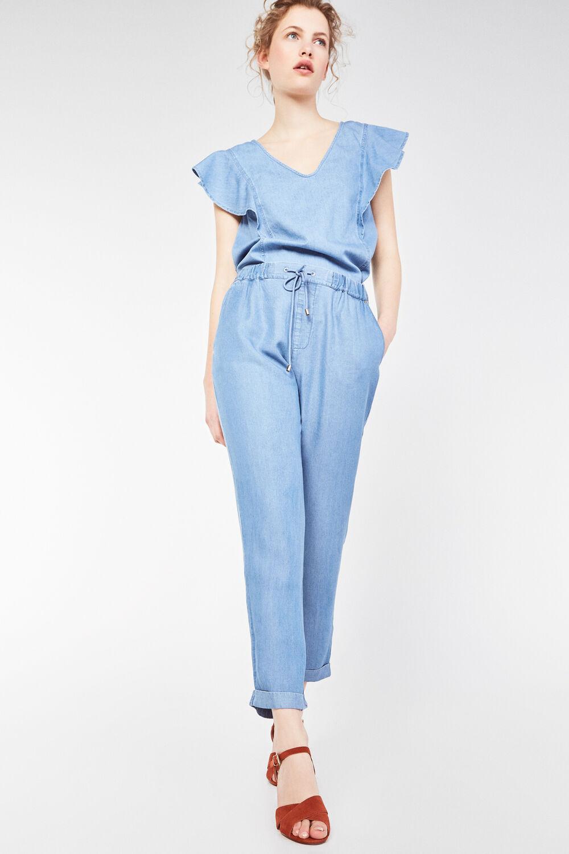 05725e1845 Cortefiel Jeans fluido Azul