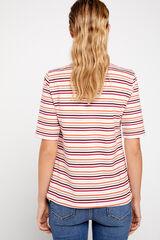 Cortefiel Camiseta básica escote barco Varios