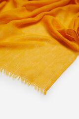 Cortefiel Foulard monocolorido zigue zague Amarelo