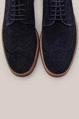 Cortefiel Zapato serraje pala vega Azul