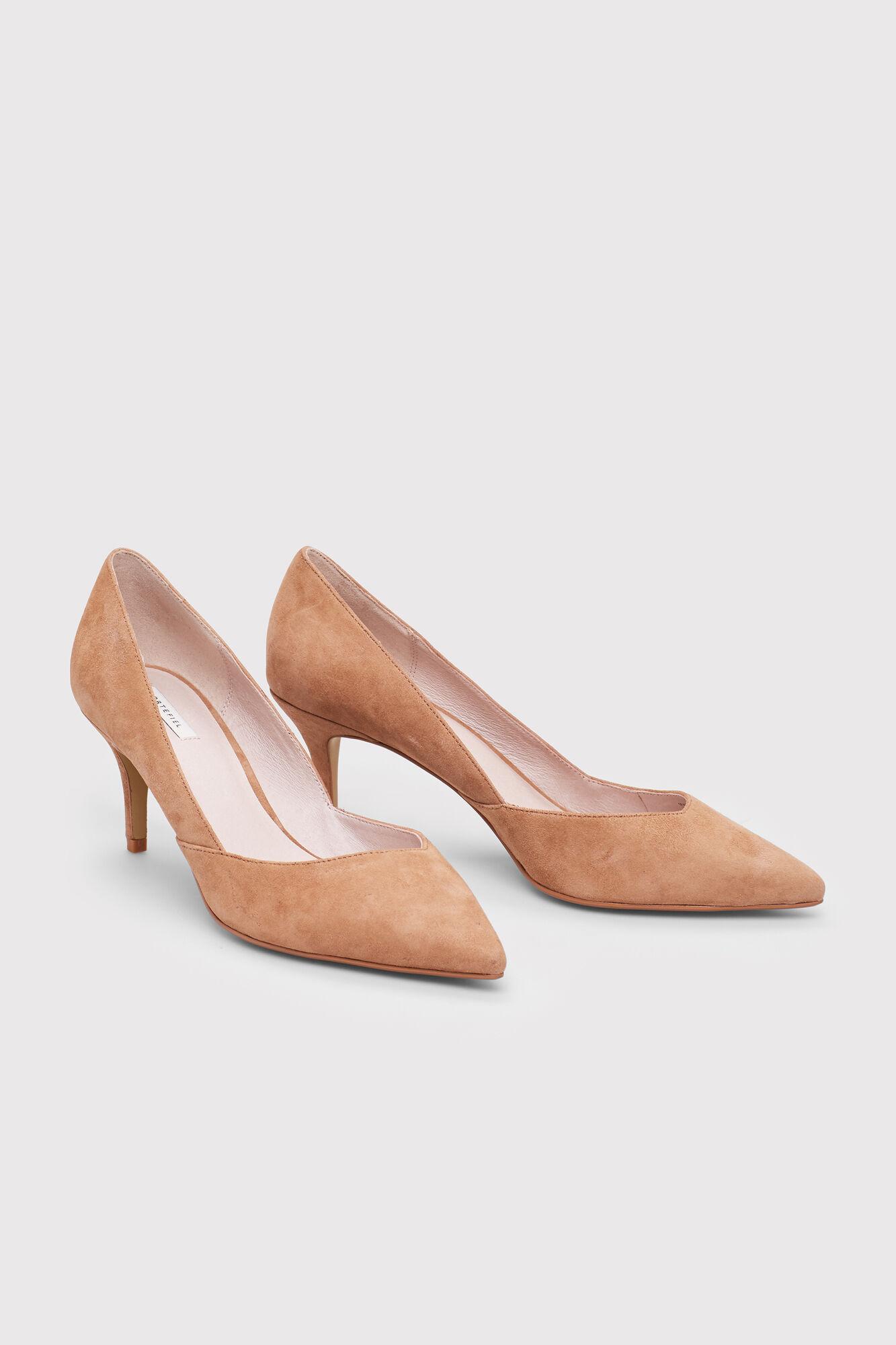 Zapatos Salón Tacón Medio Fifty Piel g0fSw0q