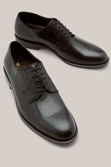 Cortefiel Zapato vestir suela cuero Negro