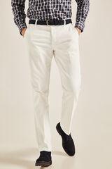 Cortefiel Pantalón chino de pana regular fit Varios