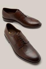 Cortefiel Zapato vestir suela cuero Marrón