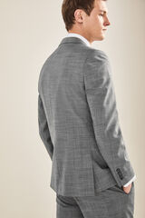 Cortefiel Americana traje gris slim fit Gris