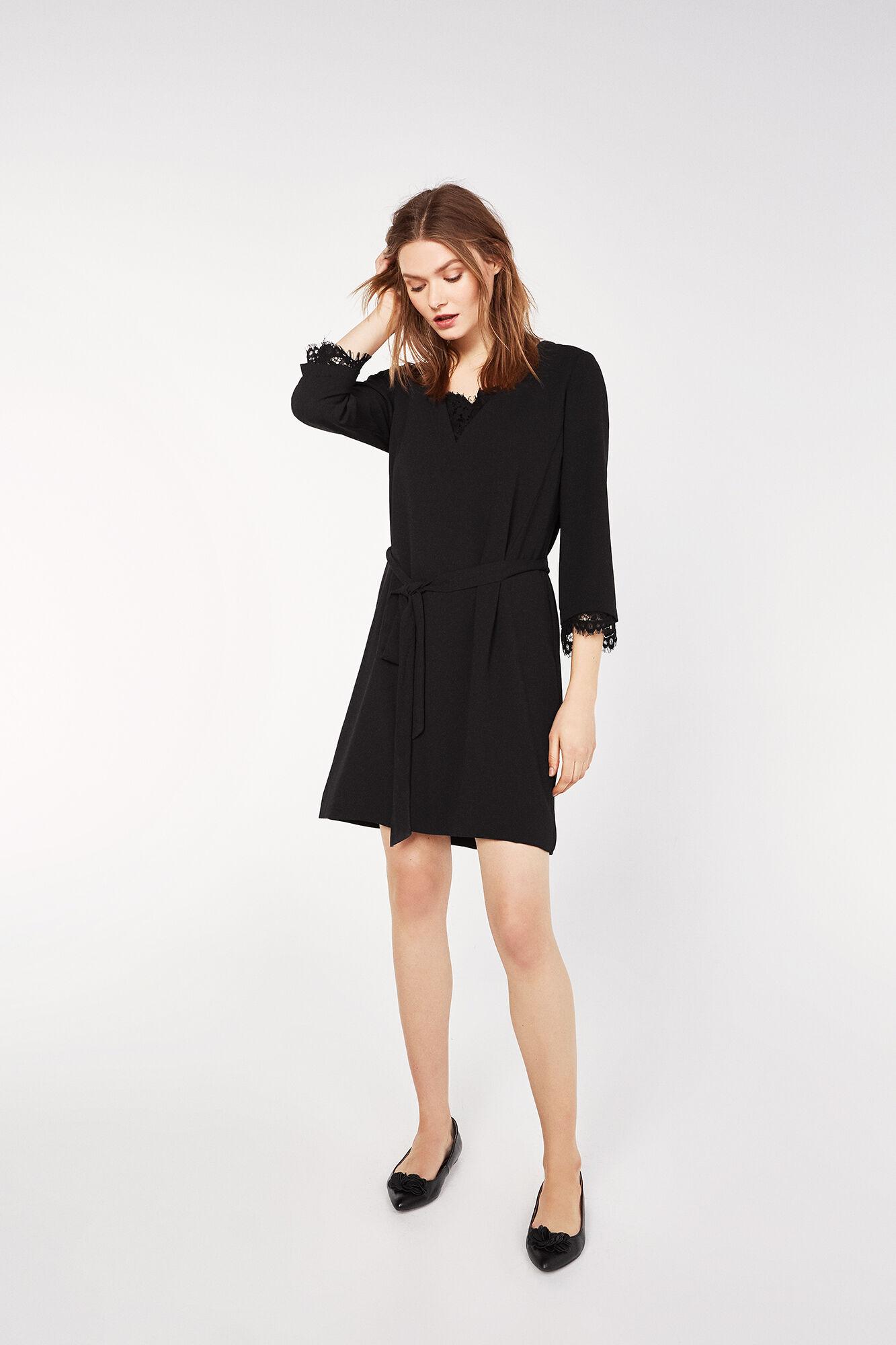Vestidos cortos con falda larga