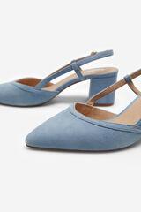 Cortefiel Zapato piel ante Azul