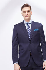 Cortefiel Americana traje tailored liso Azul