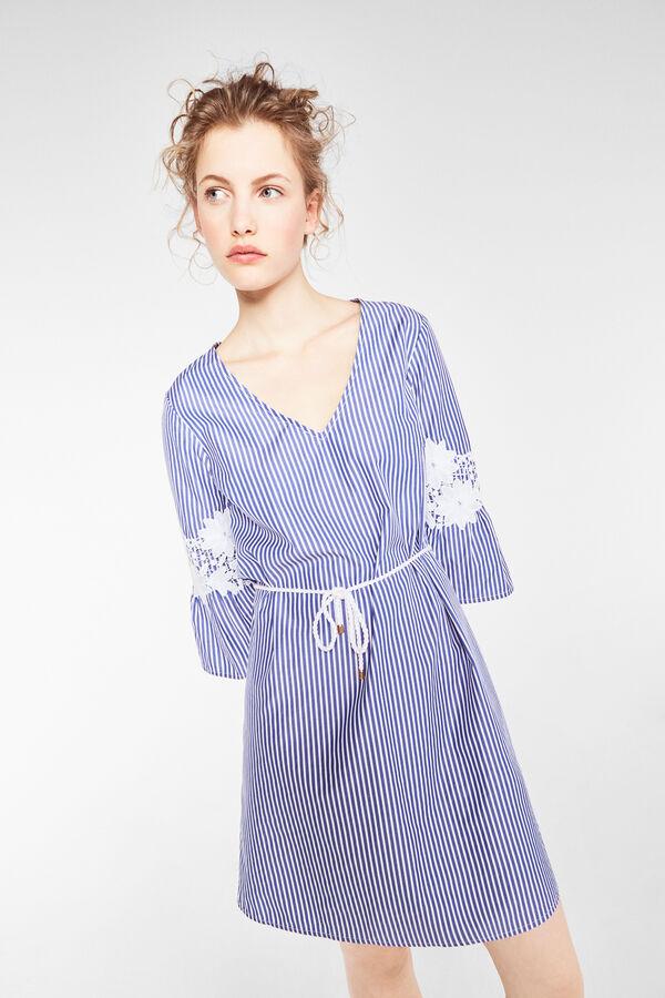 21df067dd Cortefiel Vestido de rayas Azul