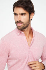 Cortefiel Camisa manga larga Rojo