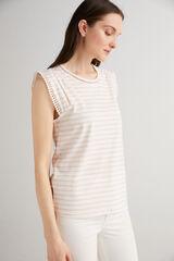 Fifty Outlet Camiseta algodón orgánico Fucsia