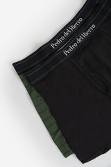 Fifty Outlet Pack boxers PDH fantasia/liso verde